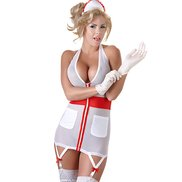 Cottelli Collection Seductive Naughty Nurse Costume