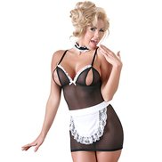Cottelli Collection Ruffled French Maid Costume Set