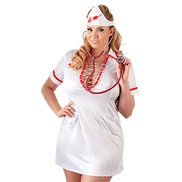 Cottelli Collection Plus Size Nurse's Costume