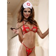 Bondara Naughty Nurse Four Piece Set