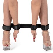 Bondara Velcro Spreader Bar with Four Cuffs