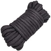 Dare Black Cotton Bondage Rope 10m