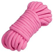 Dare Pink Cotton Bondage Rope 10m