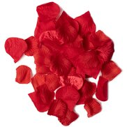 Faux Red Rose Petals